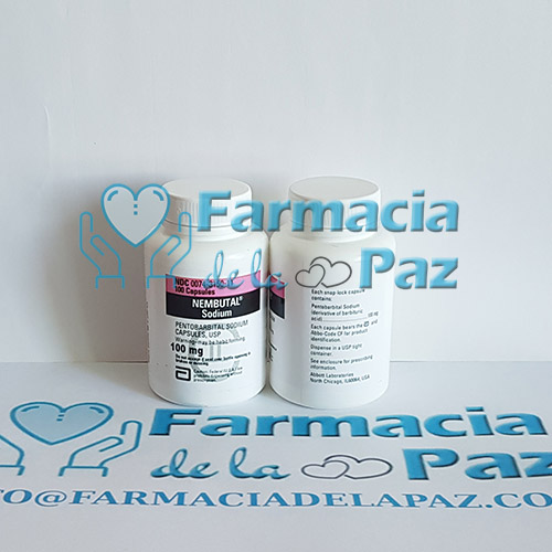 Comprimidos de Pentobarbital Nembutal 100mg